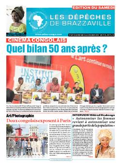 Les Dépêches de Brazzaville : Édition du 6e jour du 28 novembre 2015