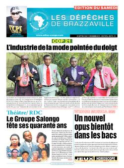 Les Dépêches de Brazzaville : Édition du 6e jour du 05 décembre 2015