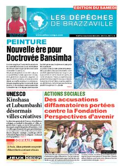 Les Dépêches de Brazzaville : Édition du 6e jour du 12 décembre 2015