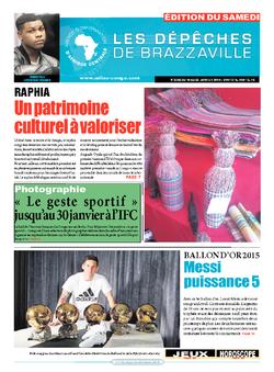 Les Dépêches de Brazzaville : Édition du 6e jour du 16 janvier 2016