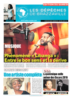 Les Dépêches de Brazzaville : Édition du 6e jour du 23 janvier 2016