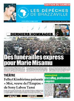 Les Dépêches de Brazzaville : Édition du 6e jour du 30 janvier 2016