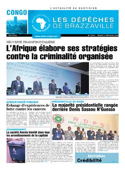Les Dépêches de Brazzaville : Édition brazzaville du 09 février 2016