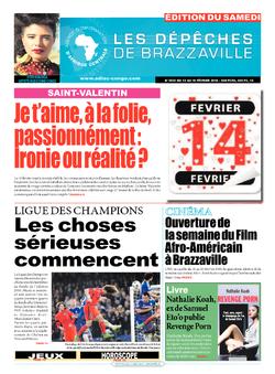 Les Dépêches de Brazzaville : Édition du 6e jour du 13 février 2016