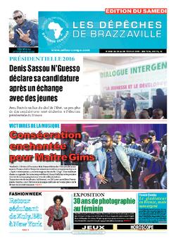 Les Dépêches de Brazzaville : Édition du 6e jour du 20 février 2016