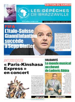 Les Dépêches de Brazzaville : Édition du 6e jour du 27 février 2016