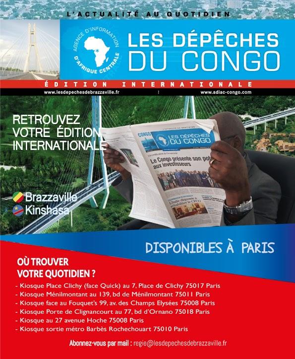 Les Dépêches de Brazzaville : Édition Internationale