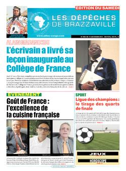 Les Dépêches de Brazzaville : Édition du 6e jour du 19 mars 2016