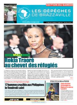Les Dépêches de Brazzaville : Édition du 6e jour du 26 mars 2016