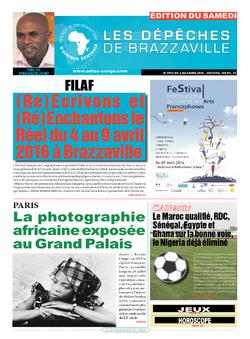 Les Dépêches de Brazzaville : Édition du 6e jour du 02 avril 2016