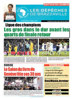 Les Dépêches de Brazzaville : Édition du 6e jour du 09 avril 2016