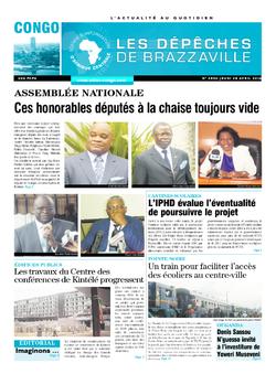 Les Dépêches de Brazzaville : Édition brazzaville du 28 avril 2016