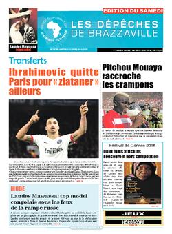 Les Dépêches de Brazzaville : Édition du 6e jour du 14 mai 2016