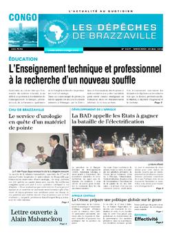 Les Dépêches de Brazzaville : Édition brazzaville du 25 mai 2016