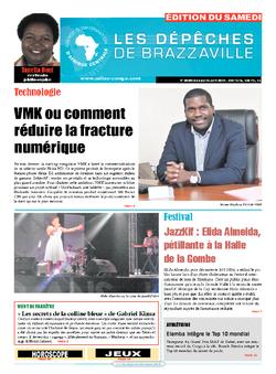Les Dépêches de Brazzaville : Édition du 6e jour du 04 juin 2016