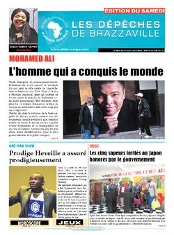 Les Dépêches de Brazzaville : Édition du 6e jour du 11 juin 2016