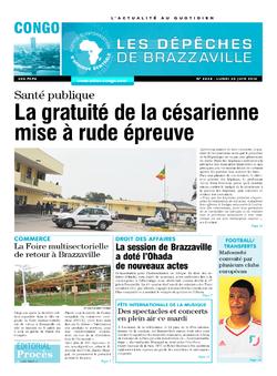 Les Dépêches de Brazzaville : Édition brazzaville du 20 juin 2016