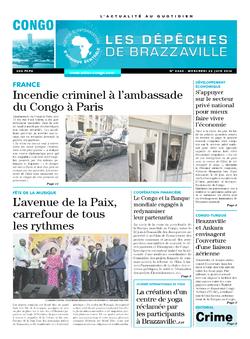 Les Dépêches de Brazzaville : Édition brazzaville du 22 juin 2016