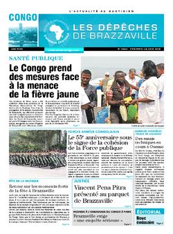 Les Dépêches de Brazzaville : Édition brazzaville du 24 juin 2016