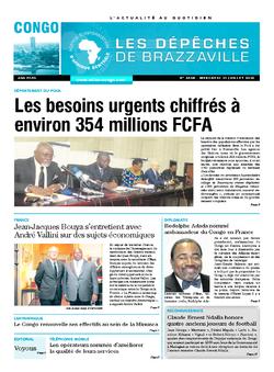 Les Dépêches de Brazzaville : Édition brazzaville du 13 juillet 2016