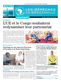 Les Dépêches de Brazzaville : Édition brazzaville du 14 juillet 2016