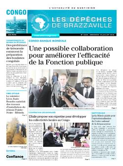Les Dépêches de Brazzaville : Édition brazzaville du 15 juillet 2016