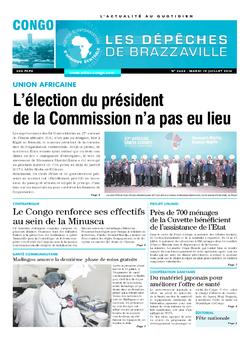 Les Dépêches de Brazzaville : Édition brazzaville du 19 juillet 2016