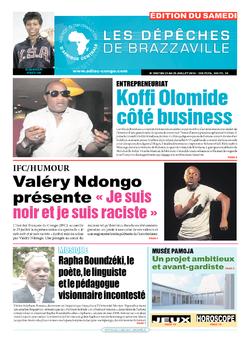 Les Dépêches de Brazzaville : Édition du 6e jour du 23 juillet 2016