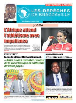 Les Dépêches de Brazzaville : Édition du 6e jour du 13 août 2016