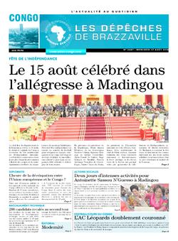Les Dépêches de Brazzaville : Édition brazzaville du 17 août 2016