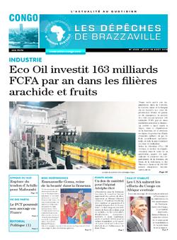 Les Dépêches de Brazzaville : Édition brazzaville du 18 août 2016