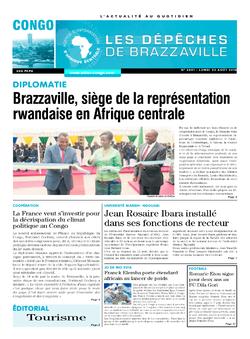 Les Dépêches de Brazzaville : Édition brazzaville du 22 août 2016