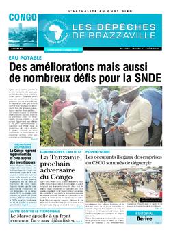 Les Dépêches de Brazzaville : Édition brazzaville du 23 août 2016