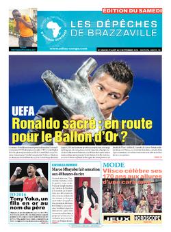 Les Dépêches de Brazzaville : Édition du 6e jour du 27 août 2016
