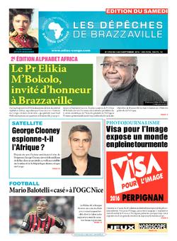 Les Dépêches de Brazzaville : Édition du 6e jour du 03 septembre 2016