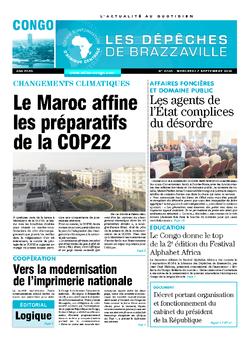 Les Dépêches de Brazzaville : Édition brazzaville du 07 septembre 2016