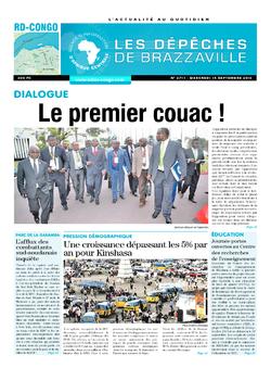 Les Dépêches de Brazzaville : Édition kinshasa du 14 septembre 2016