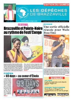 Les Dépêches de Brazzaville : Édition du 6e jour du 17 septembre 2016