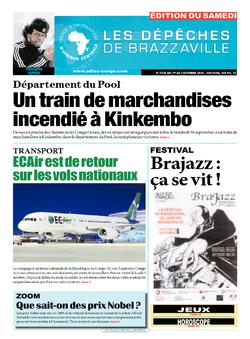 Les Dépêches de Brazzaville : Édition du 6e jour du 01 octobre 2016