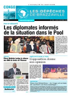 Les Dépêches de Brazzaville : Édition brazzaville du 06 octobre 2016