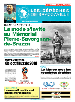Les Dépêches de Brazzaville : Édition du 6e jour du 08 octobre 2016