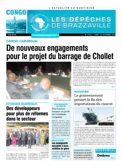 Les Dépêches de Brazzaville : Édition brazzaville du 10 octobre 2016