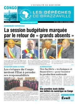 Les Dépêches de Brazzaville : Édition brazzaville du 18 octobre 2016