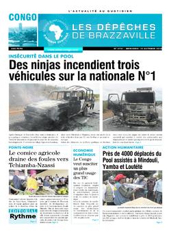 Les Dépêches de Brazzaville : Édition brazzaville du 19 octobre 2016