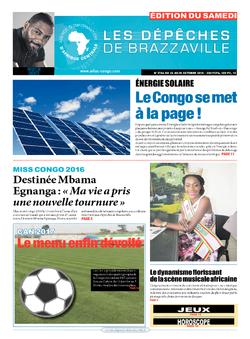 Les Dépêches de Brazzaville : Édition du 6e jour du 22 octobre 2016