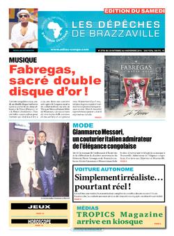 Les Dépêches de Brazzaville : Édition du 6e jour du 29 octobre 2016