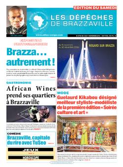Les Dépêches de Brazzaville : Édition du 6e jour du 05 novembre 2016
