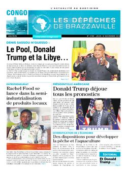 Les Dépêches de Brazzaville : Édition brazzaville du 10 novembre 2016
