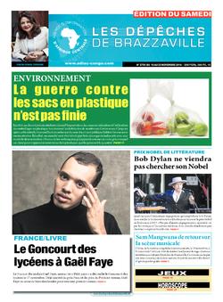 Les Dépêches de Brazzaville : Édition du 6e jour du 19 novembre 2016