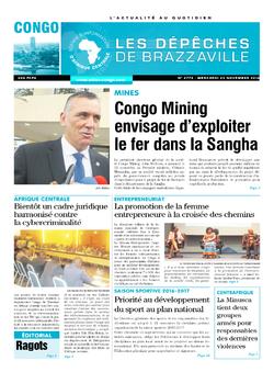Les Dépêches de Brazzaville : Édition brazzaville du 23 novembre 2016